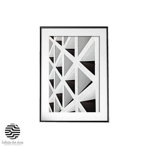Concrete Construction Photography,Geometric Architecture Photography,Minimal,Digital Download,Trendy Art Print