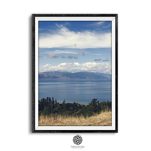 Ohrid Lake Print Digital Download