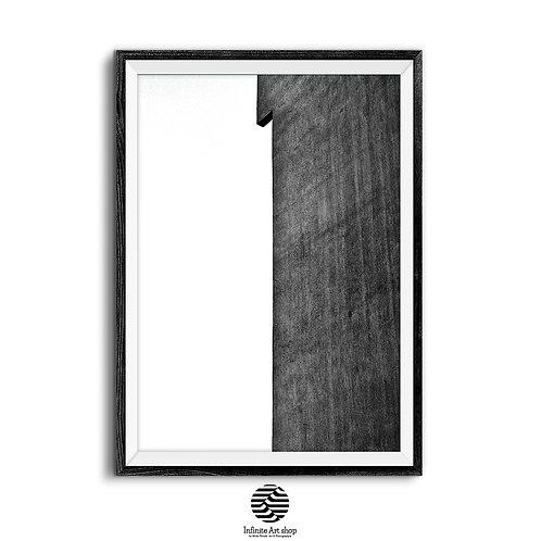 Minimalist PRINTABLE Wall Art,Black and White Print,Urban Architecture Print,Minimalist Building Print ,Digital download,