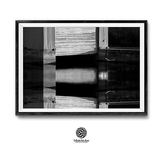 Fine Art Photography, Minimalist,Bird,Black and white,Digital Download