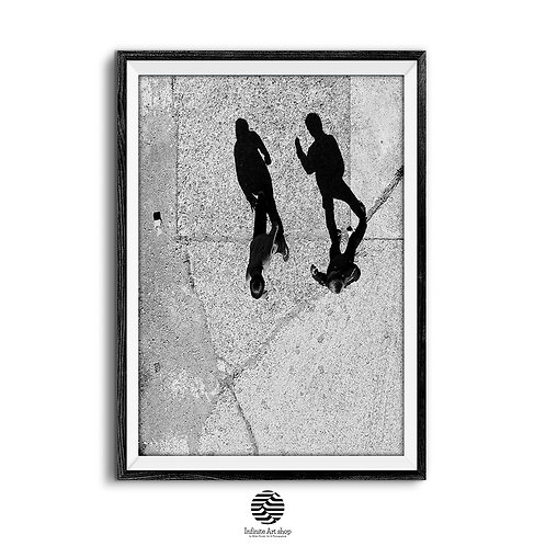 Light and Shadows Photography,Black and White,Minimalist Print,Street Photography,Digital download,
