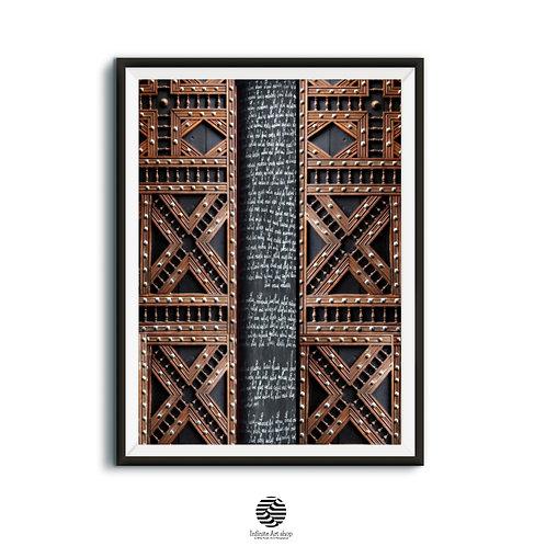The Hidden Manuscript,Digital Artwork,Secret Manuscript Print,Wooden Ornaments,Printable Artwork,