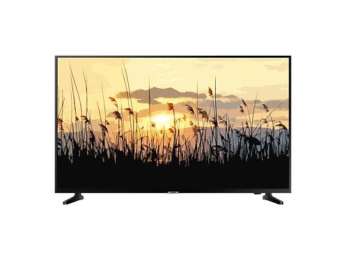 Frame TV Reed Artwork,Samsung Frame TV Art,Terracotta Sunset,Sunset Art Frame.