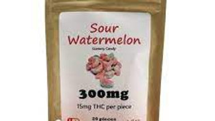 Sour Watermelon 15mg/300mg 6 pieces