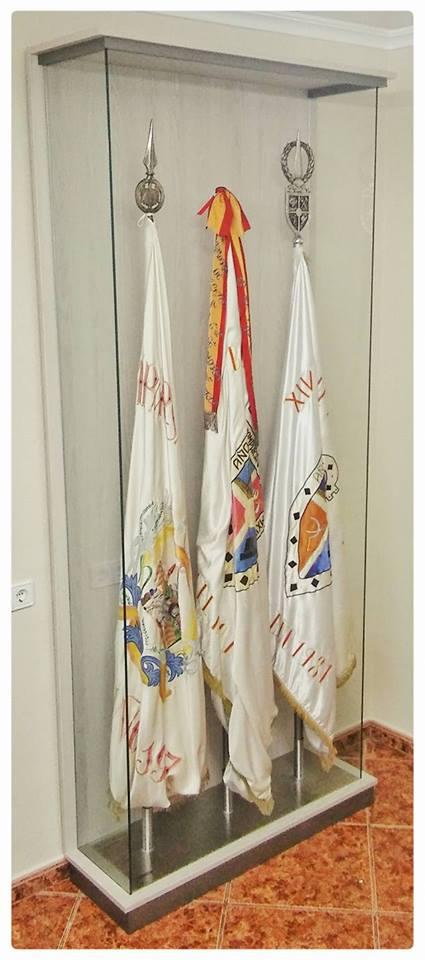 Banderas vitrina