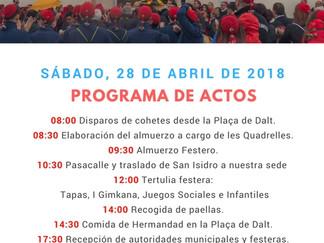 Programa de Actos Día de la Hermandad