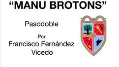 """Sociedad Unión Musical estrena el PD """"Manu Brotons"""" compuesto por Francisco José Fernández Vicedo"""