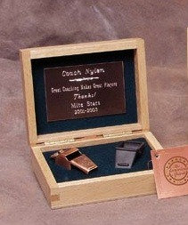 The American Spirit Bronze Award Whistle - Bronze Plated