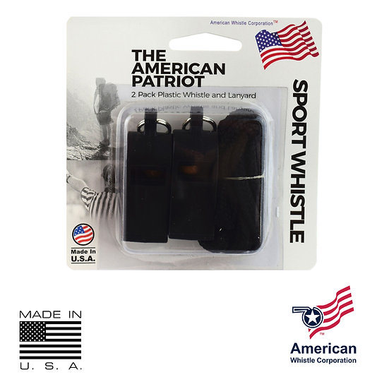 THE AMERICAN PATRIOT WHISTLE (2 PACK)