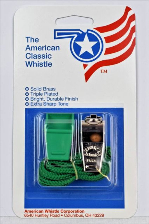 The American Classic Brass Whistle American Whistle Co