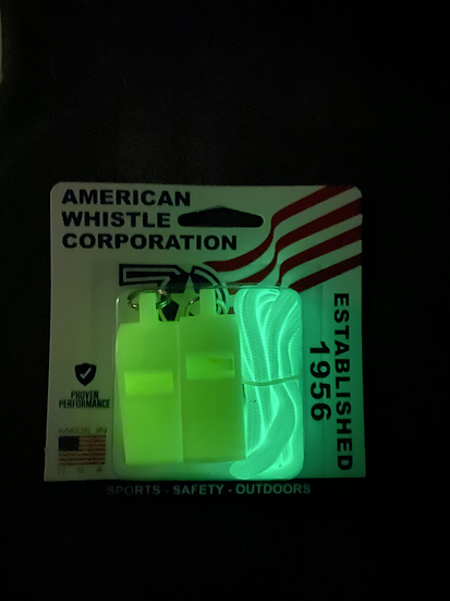 American Whistle Corp Patriot Glow in the Dark (2 Pack)