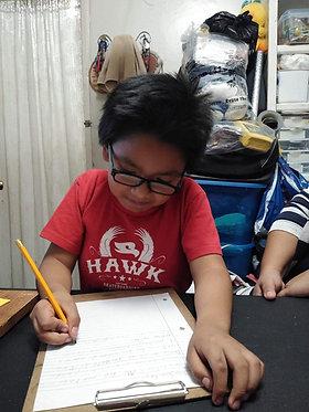 Sebastian 8 years old