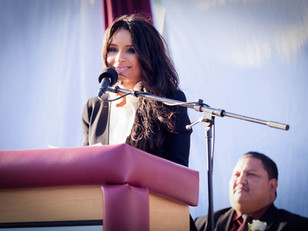 KIMBERLY MOORE - COMMENCEMENT SPEECH AT EAST LOS ANGELES COLLEGE TO THE GRADUATES OF BELL GARDENS HI