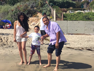 Kimberly Moore takes her Adopt A Letter kids to visit the ocean for the very first time!