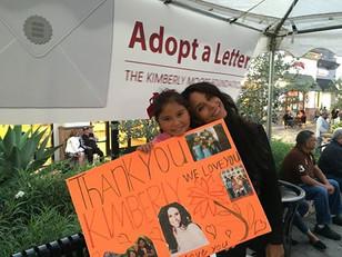 Adopt A Letter program visits children at Walnut Park!