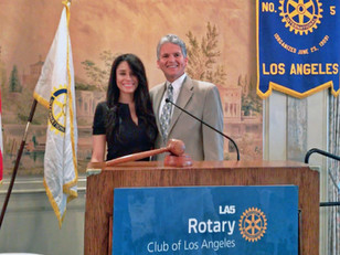 A big thank you to LA Rotary!