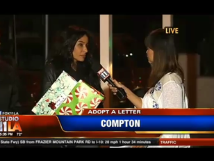 Watch Adopt A Letter LIVE on FOX NEWS with Kimberly Moore and Celebrity Teen Hope Ambassador, Cheyo