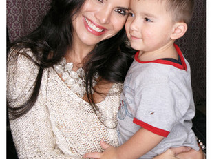 """Celebrity Hope Ambassador Joyce Giraud Joins the KImberly Moore Foundation's """"Adopt A Letter"""" Door t"""