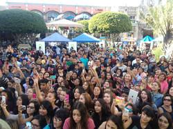 Plaza Mexico concert #adoptaletter