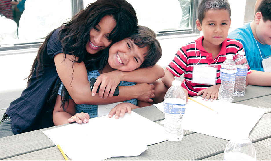 Kimberly moore foundation adopt a letter kids