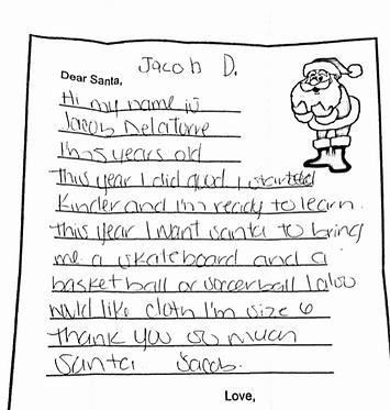 Jacob 5yrs old