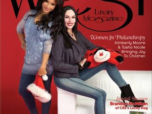 Pick up the holiday issue of West Luxury Magazine to read about our Adopt A Letter Story today!