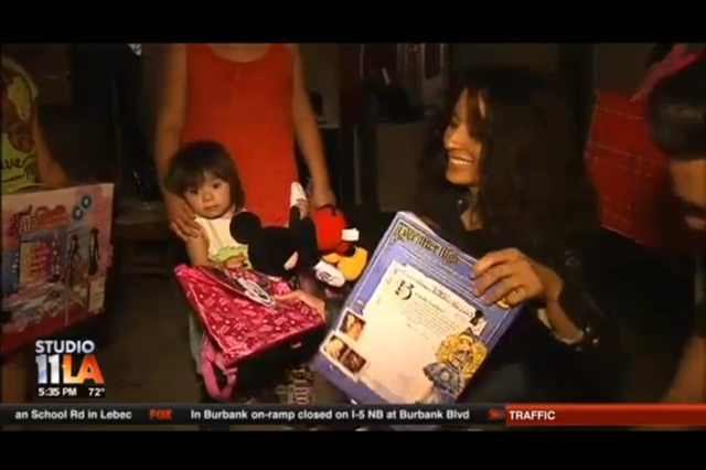 Kimberly Moore, fox news, adopt a letter, kimberly moore foundation, cheyo carrillo, my fox la