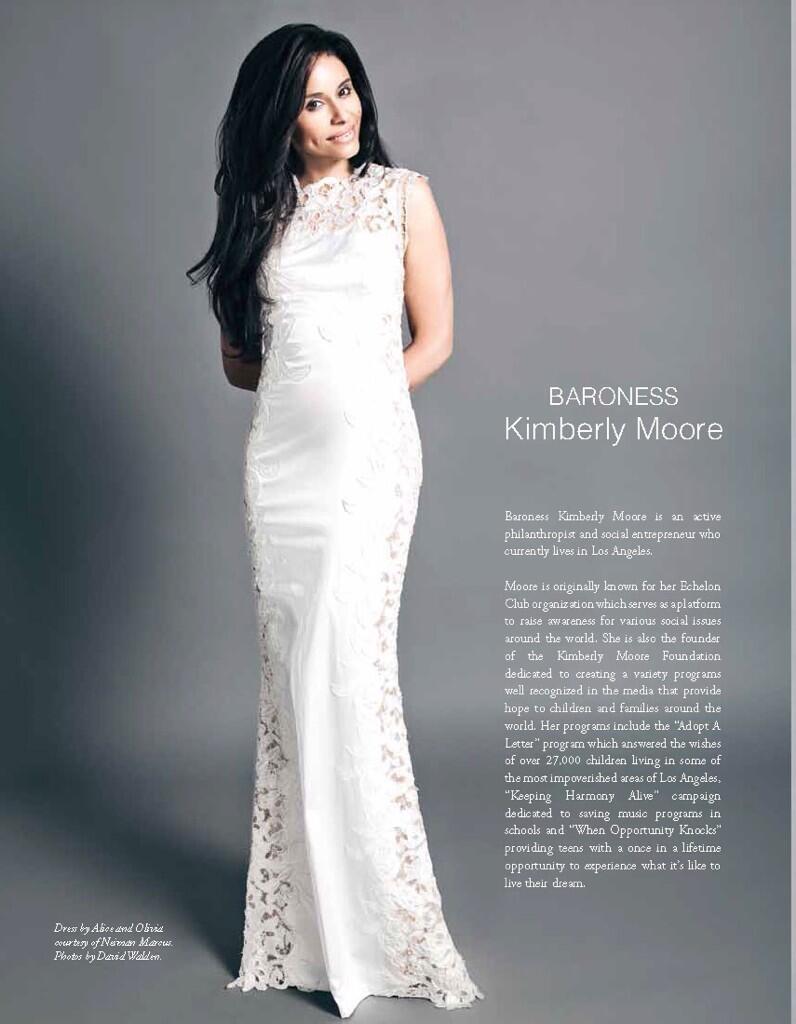 Baroness Kimberly Moore