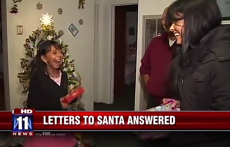 Adopt A Letter to Santa | Kimberly Moore Foundation | Los Angeles