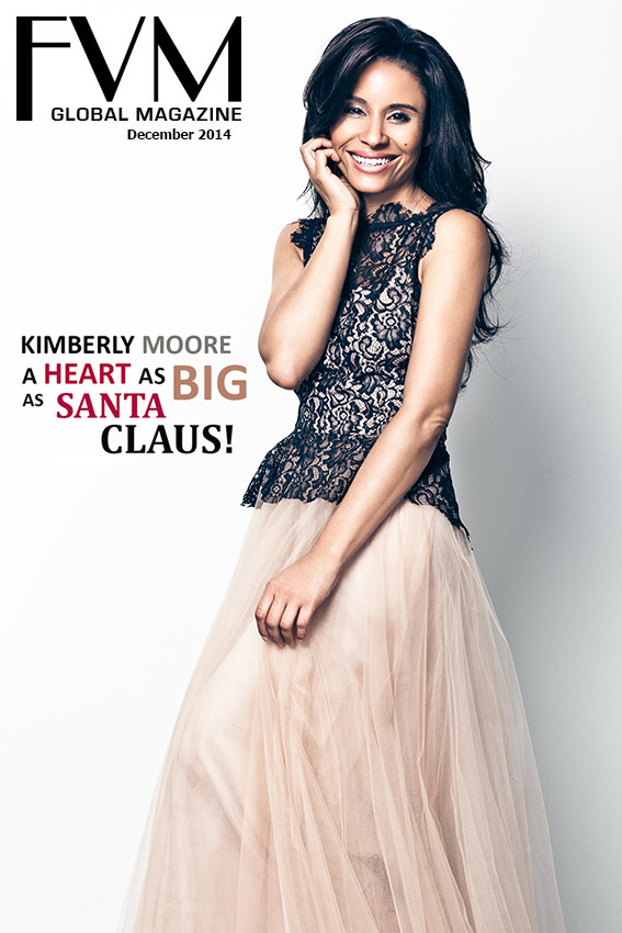 Baroness Kimberly Moore FVM Global Magazine Cover Kimberly Moore Foundation Adopt A Letter