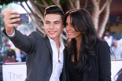 Cheyo Carrillo and Kimberly Moore