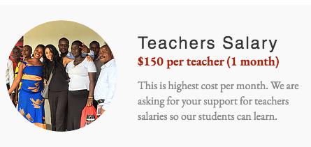 Teachers Salary - Liberia