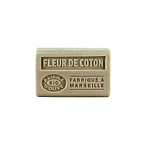 Savon Solide à l'Huile d'Olive Fleur de Coton