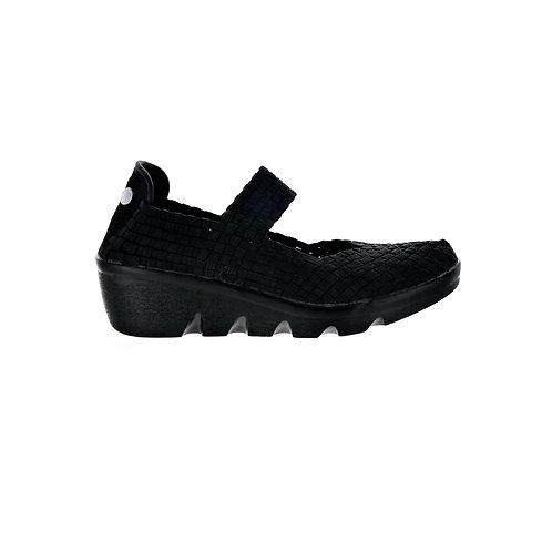 chaussure compensée lihi lulia black bernie mev