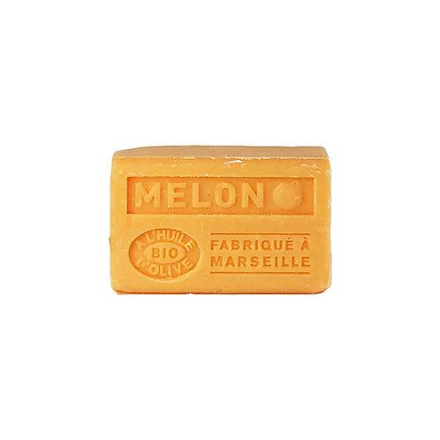 Savonnette Parfumée à l'Huile d'Olive Bio Melon