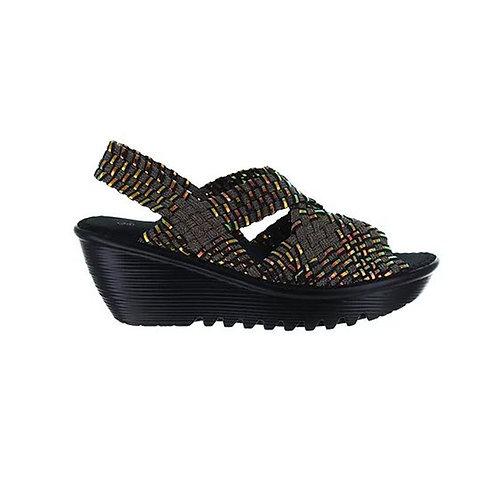 chaussure compensee brighten bronze plasma bernie mev
