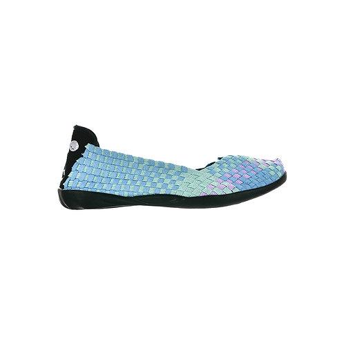 chaussure ballerine catwalk sea breeze shimmer bernie mev
