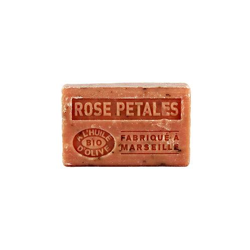Savon Solide à l'Huile d'Olive Rose Pétales