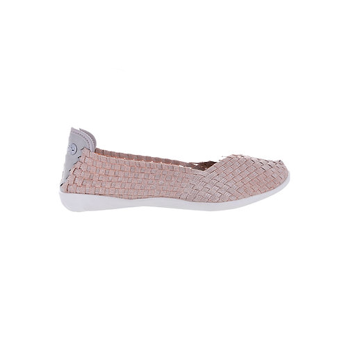 chaussure ballerine catwalk new blush shimmer bernie mev