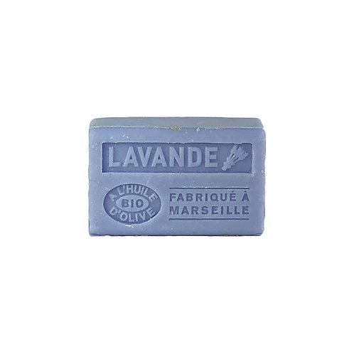 Savonnette parfumée à l'Huile d'Olive Bio Lavande