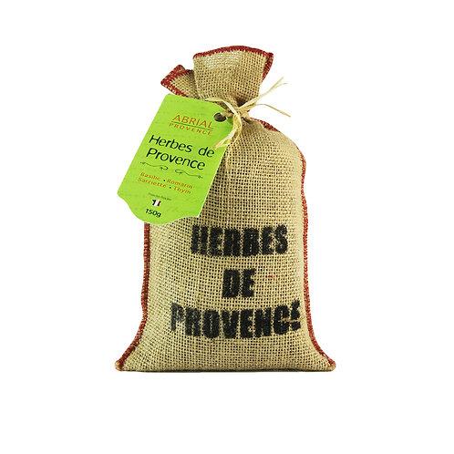 Sachet Herbes de Provence Véritables 150g, Thym, Romarin, Basilic, Sariette