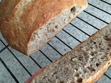 Super Easy No-Knead Bread