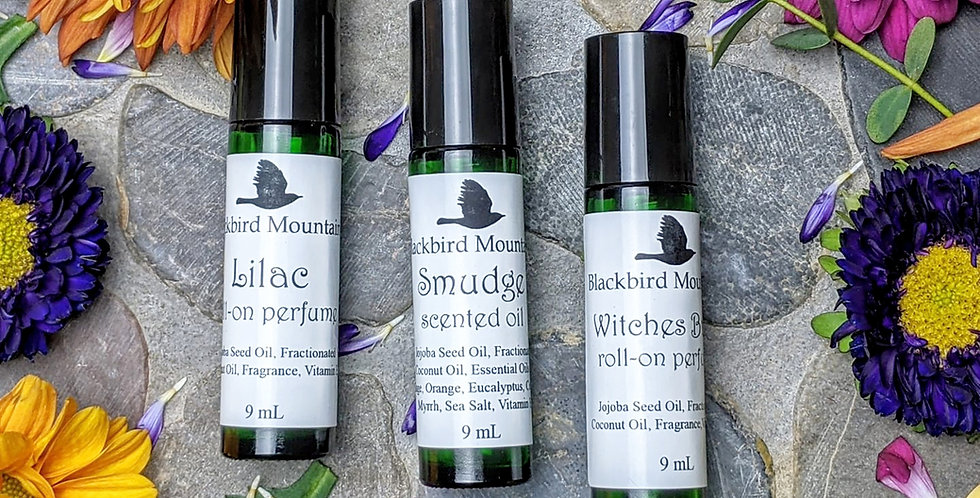 Roll-On Scented Oils
