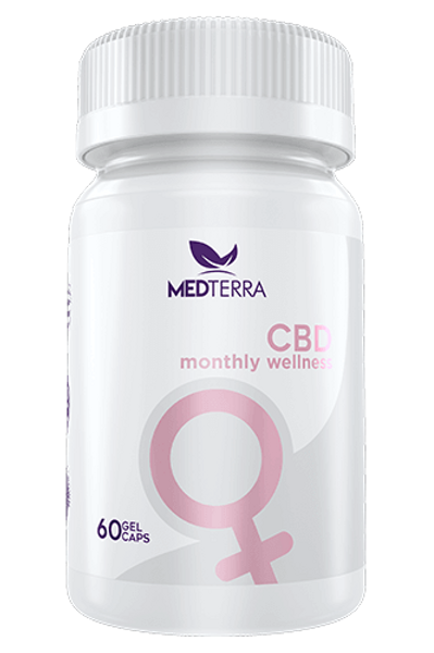 MEDTerra 750mg CBD Monthly Wellness Capsules