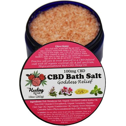 Goddess Relief Bath Salt 10oz