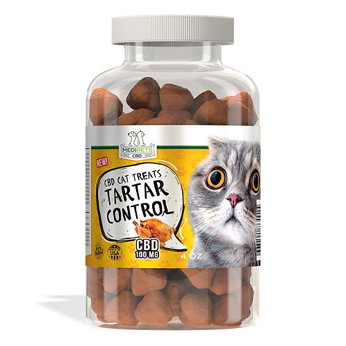 MediPets CBD Cat Treats - Cat Cafe´ Tartar Control