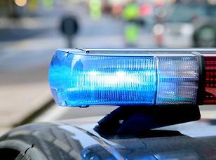 Polícia Luzes do carro