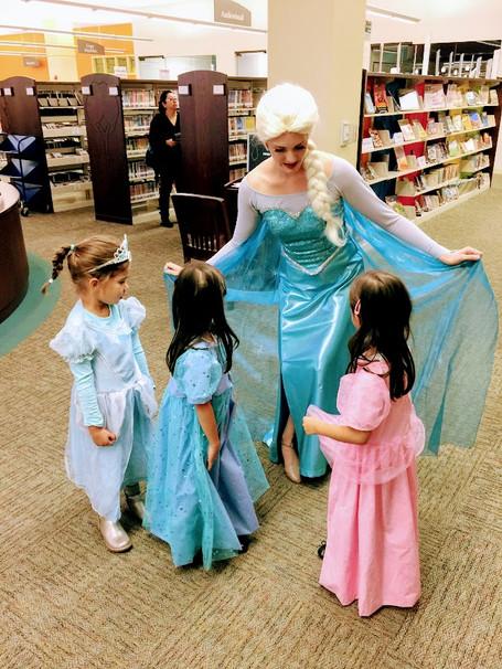 Elsa: Chicgago Party Princess Productions