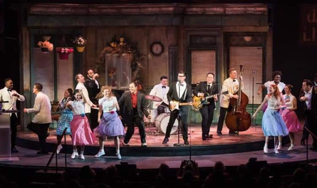 Jeff Awrds: Buddy Holly Cast Performs and Wins Best Esemble/Best Musical