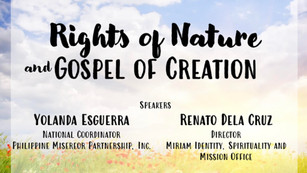 Earth Day 2021 Rights of Nature & Gospel of Creation